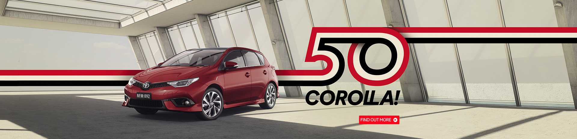 50 Years of Corolla