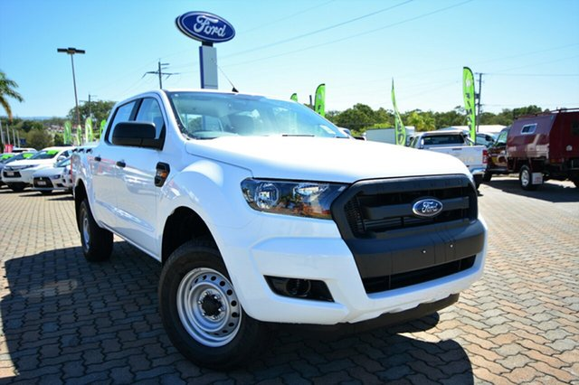 Discounted Demonstrator, Demo, Near New Ford Ranger XL Double Cab, Southport, 2016 Ford Ranger XL Double Cab Utility