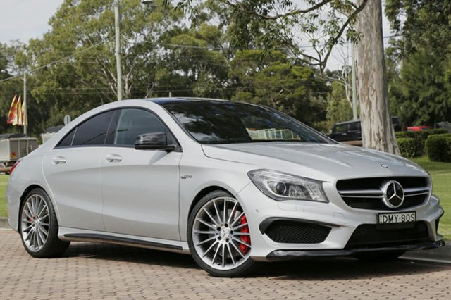 Used Mercedes-Benz CLA45 AMG SPEEDSHIFT DCT 4MATIC, Warwick Farm, 2014 Mercedes-Benz CLA45 AMG SPEEDSHIFT DCT 4MATIC Coupe