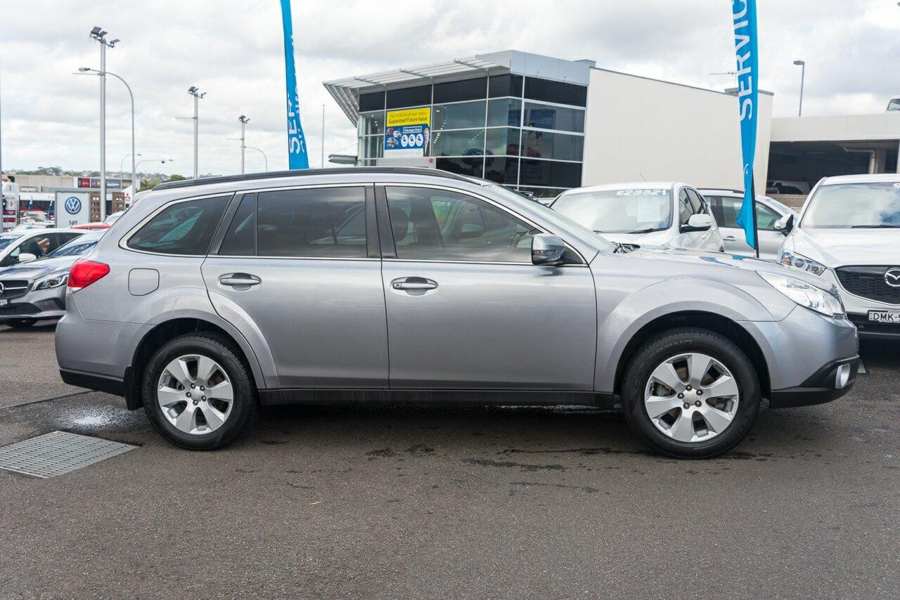 2010 Subaru Outback 2.5i Lineartronic AWD B5A MY11