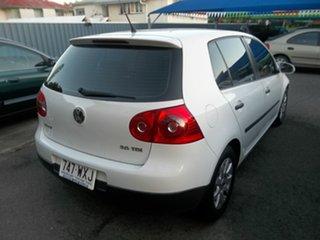 2007 Volkswagen Golf 1.9 TDI Comfortline Hatchback.