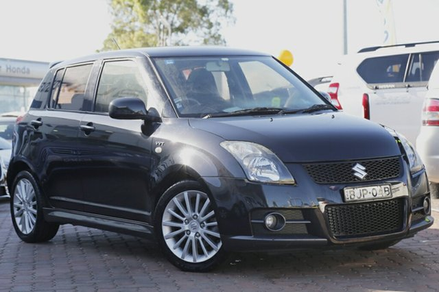 Used Suzuki Swift Sport, Narellan, 2009 Suzuki Swift Sport Hatchback