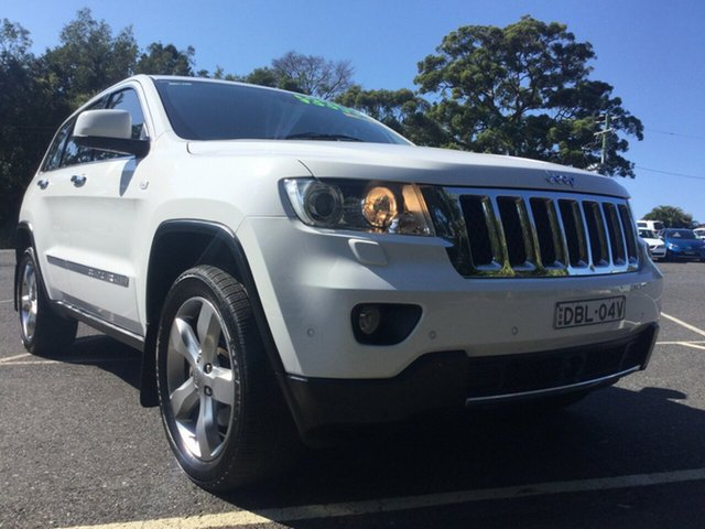 Used Jeep Grand Cherokee Overland, Coffs Harbour, 2012 Jeep Grand Cherokee Overland Wagon