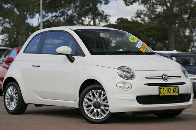 Used Fiat 500 Pop Dualogic, Warwick Farm, 2016 Fiat 500 Pop Dualogic Hatchback