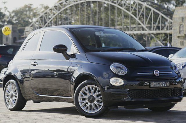 Used Fiat 500 Pop Dualogic, Warwick Farm, 2015 Fiat 500 Pop Dualogic Hatchback