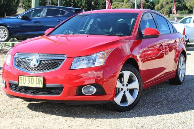 Used Holden Cruze CD Equipe, Bathurst, 2013 Holden Cruze CD Equipe Sedan