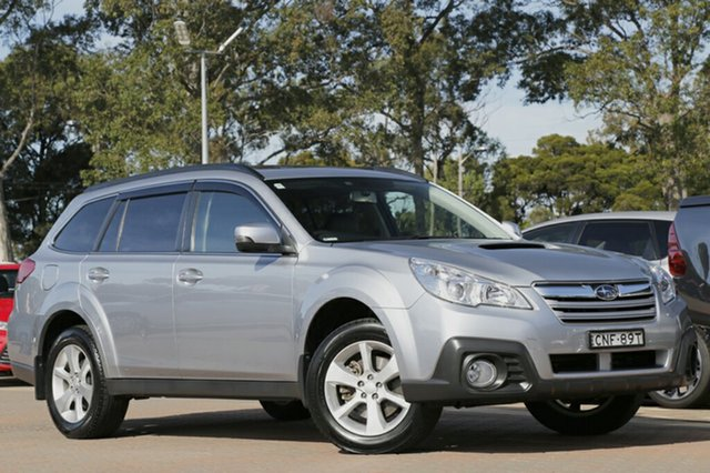 Used Subaru Outback 2.0D Lineartronic AWD Premium, Warwick Farm, 2013 Subaru Outback 2.0D Lineartronic AWD Premium SUV