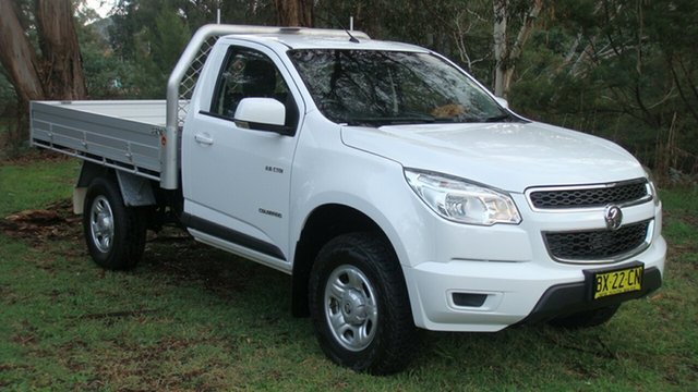 Used Holden Colorado LX, Queanbeyan, 2013 Holden Colorado LX Cab Chassis