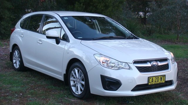 Used Subaru Impreza 2.0i Lineartronic AWD, Queanbeyan, 2014 Subaru Impreza 2.0i Lineartronic AWD Hatchback
