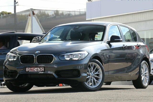 Demonstrator, Demo, Near New BMW 118i Sport Line Steptronic, Brookvale, 2016 BMW 118i Sport Line Steptronic Hatchback