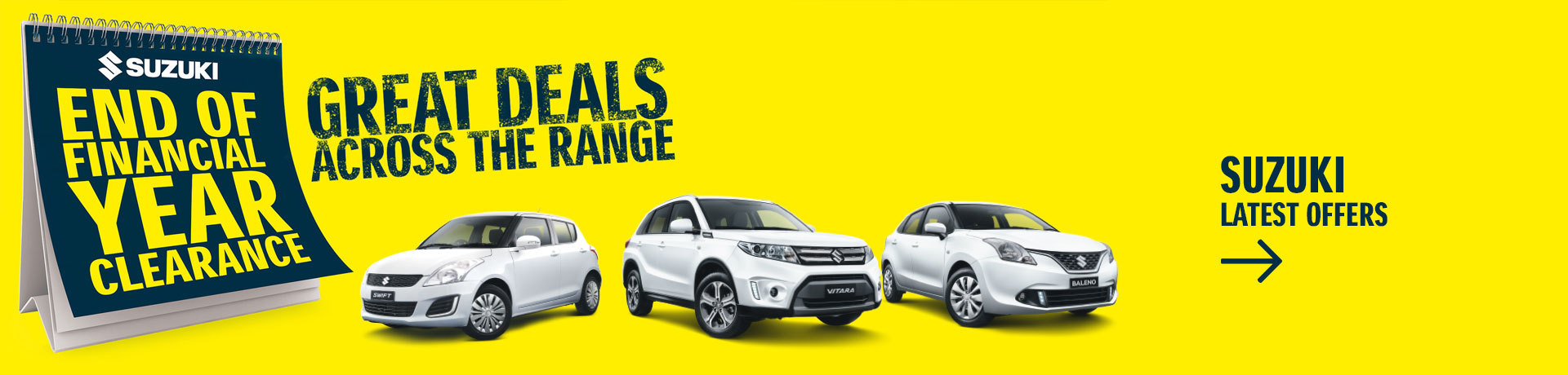 Suzuki - National Offer - End Of Financial Year Clearance - Great Deals Across T