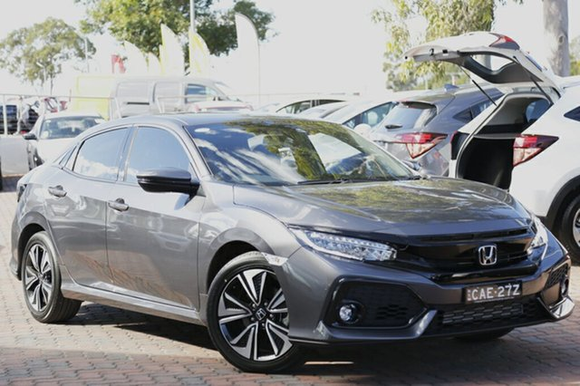 Discounted Demonstrator, Demo, Near New Honda Civic VTI-LX, Narellan, 2017 Honda Civic VTI-LX Hatchback