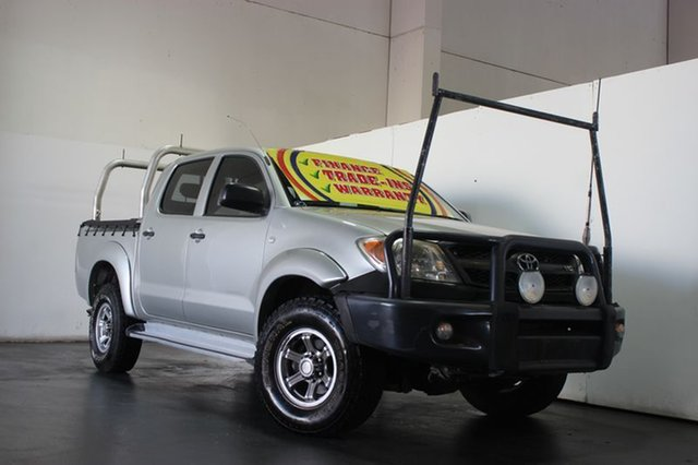 Used Toyota Hilux SR (4x4), Underwood, 2005 Toyota Hilux SR (4x4) Dual Cab Pick-up