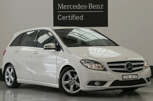 Used Mercedes-Benz B200 CDI BlueEFFICIENCY DCT, Narellan, 2012 Mercedes-Benz B200 CDI BlueEFFICIENCY DCT Hatchback