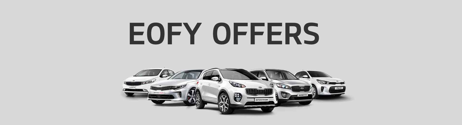 Kia - National Offer - EOFY Offers