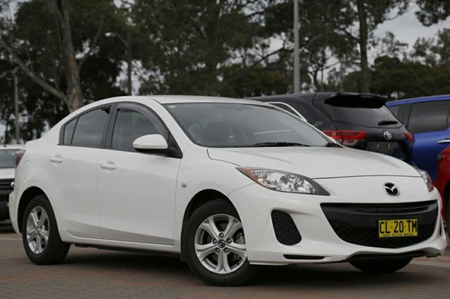 Used Mazda 3 Neo Activematic, Warwick Farm, 2013 Mazda 3 Neo Activematic Sedan