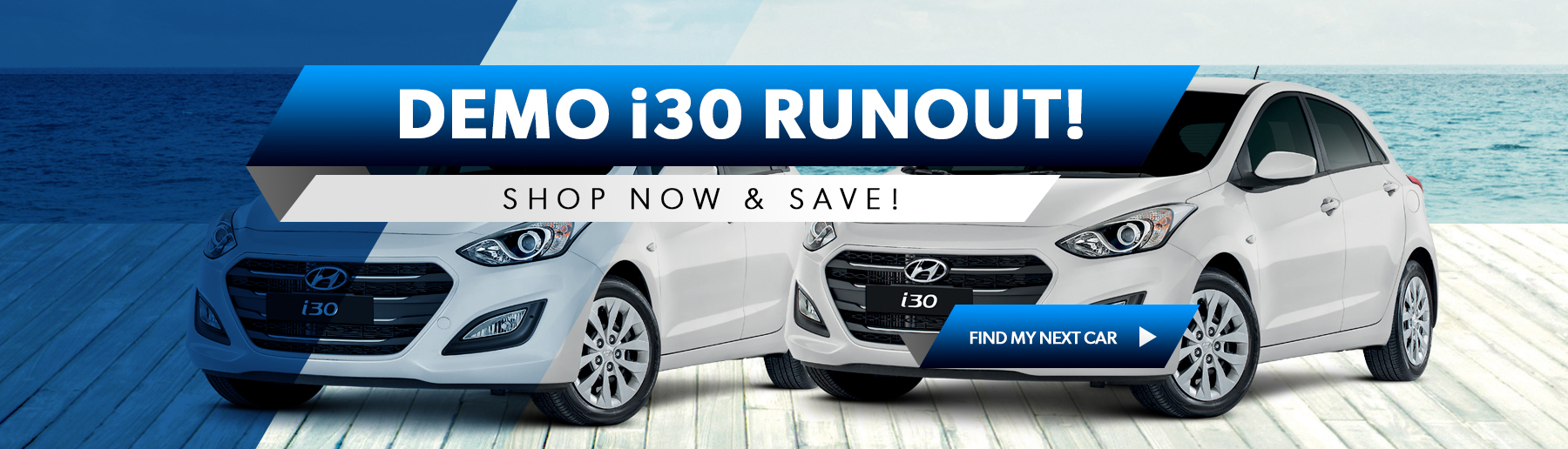 Search i30 demo runout models