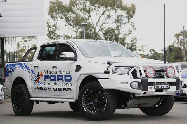Demonstrator, Demo, Near New Ford Ranger XLT Double Cab, Narellan, 2016 Ford Ranger XLT Double Cab Utility