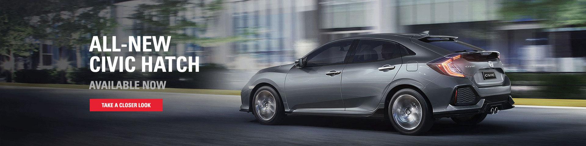 All New Honda Civic Hatch