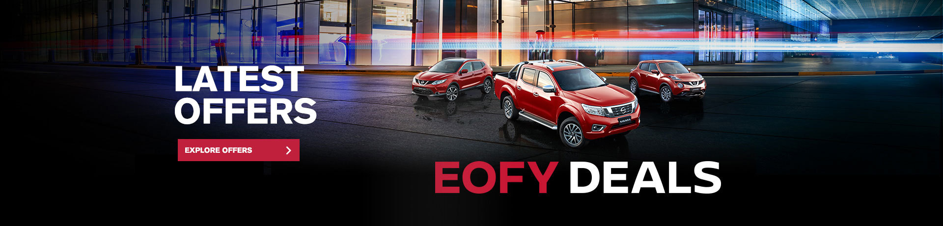 Nissan - National Offer -End Of Financial Year Savings