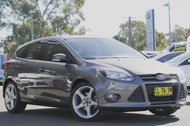 Used Ford Focus Titanium PwrShift, Narellan, 2011 Ford Focus Titanium PwrShift Hatchback