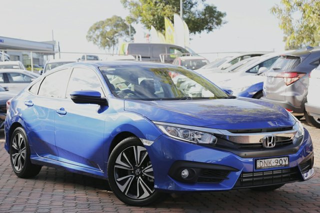 Discounted Demonstrator, Demo, Near New Honda Civic VTi-L, Narellan, 2017 Honda Civic VTi-L Sedan