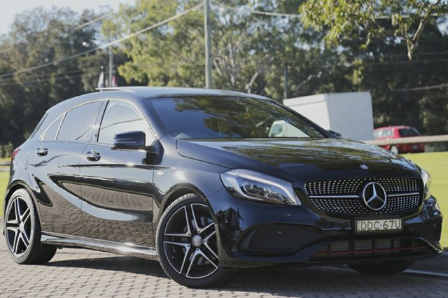 Used Mercedes-Benz A250 Sport D-CT 4MATIC, Warwick Farm, 2015 Mercedes-Benz A250 Sport D-CT 4MATIC Hatchback