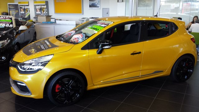 Discounted Demonstrator, Demo, Near New Renault Clio R.S. 200 EDC Cup Premium, Warwick Farm, 2016 Renault Clio R.S. 200 EDC Cup Premium Hatchback