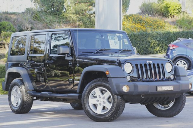 Discounted Demonstrator, Demo, Near New Jeep Wrangler Unlimited Sport, Southport, 2016 Jeep Wrangler Unlimited Sport SUV