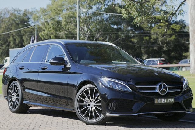 Used Mercedes-Benz C250 Estate 7G-Tronic +, Warwick Farm, 2016 Mercedes-Benz C250 Estate 7G-Tronic + Wagon