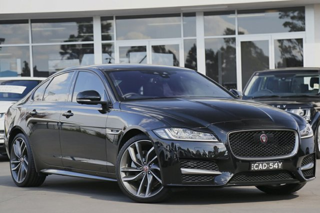 Demonstrator, Demo, Near New Jaguar XF 25T R-Sport, Southport, 2016 Jaguar XF 25T R-Sport Sedan