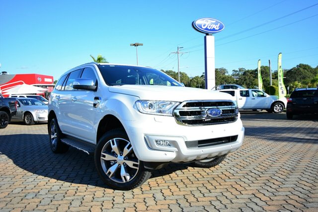 Discounted New Ford Everest Titanium, Southport, 2017 Ford Everest Titanium Wagon