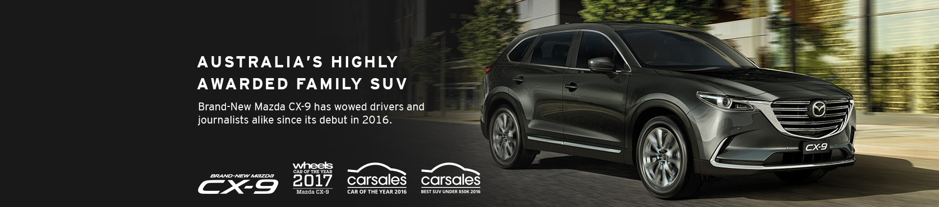 The Award Winning Mazda CX-9