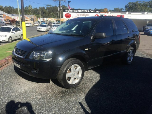 Used Ford Territory  , 2009 Ford Territory Black 6 Speed 6 SP Auto Active Select Wagon