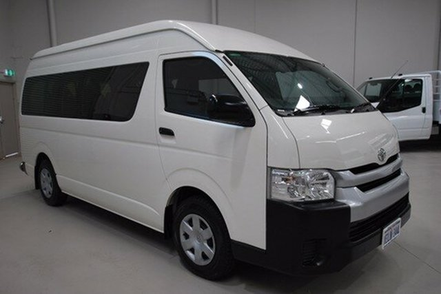 Used Toyota Hiace Commuter High Roof Super LWB, Kenwick, 2014 Toyota Hiace Commuter High Roof Super LWB Bus