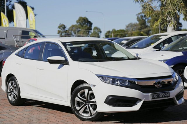 Discounted Demonstrator, Demo, Near New Honda Civic VTi, Narellan, 2017 Honda Civic VTi Sedan