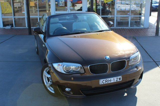 Used BMW 118d Steptronic, Cardiff, 2012 BMW 118d Steptronic Convertible