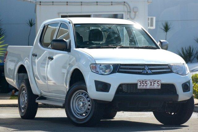 Used Mitsubishi Triton GLX Double Cab, Bowen Hills, 2012 Mitsubishi Triton GLX Double Cab Utility
