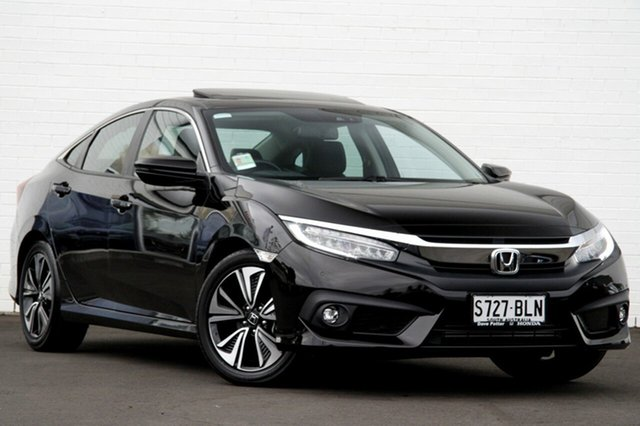 Discounted Demonstrator, Demo, Near New Honda Civic VTI-LX, Glenelg South, 2016 Honda Civic VTI-LX Sedan