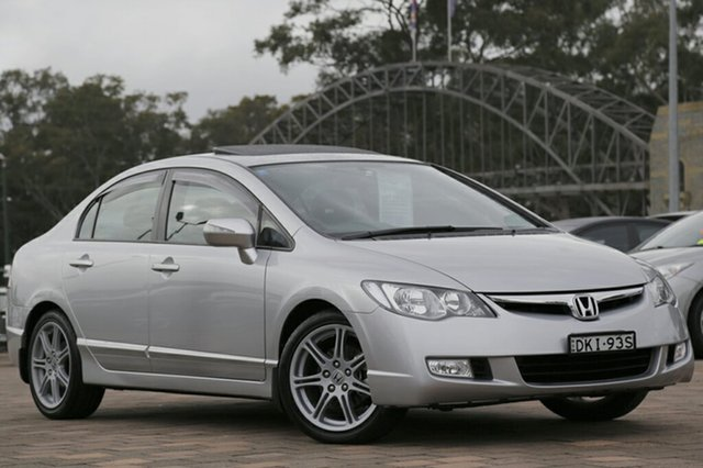 Used Honda Civic Sport, Warwick Farm, 2007 Honda Civic Sport Sedan