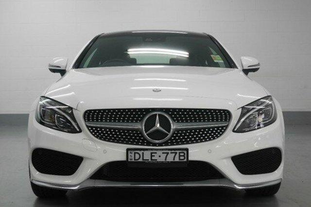 Demonstrator, Demo, Near New Mercedes-Benz C200 7G-Tronic +, Chatswood, 2016 Mercedes-Benz C200 7G-Tronic + Coupe