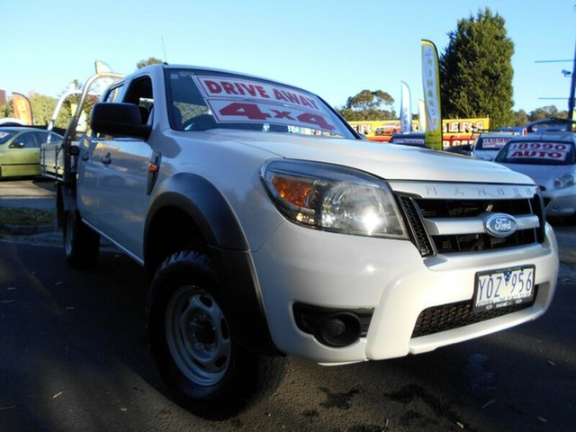 Used Ford Ranger XL (4x4), Upper Ferntree Gully, 2010 Ford Ranger XL (4x4) Dual C/Chas