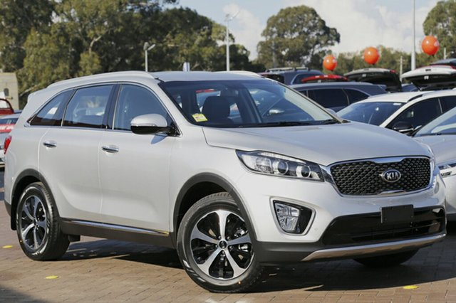 Demonstrator, Demo, Near New Kia Sorento Si Limited, Warwick Farm, 2017 Kia Sorento Si Limited SUV