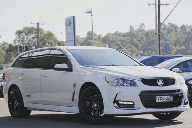 Discounted Used Holden Commodore SS V Sportwagon Redline, Narellan, 2016 Holden Commodore SS V Sportwagon Redline Wagon