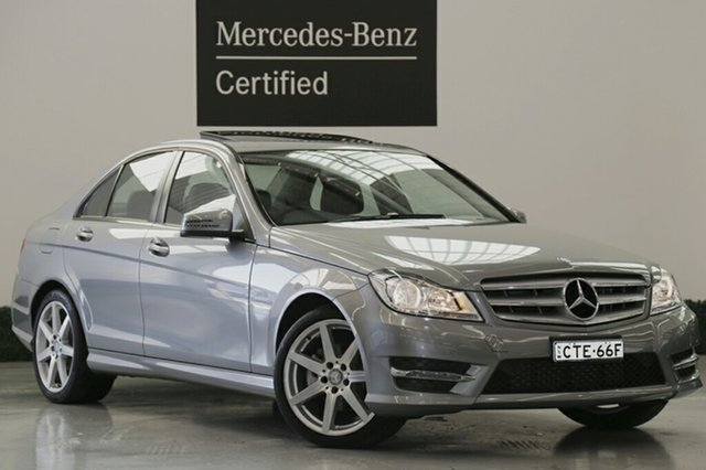 Used Mercedes-Benz C200 7G-Tronic +, Narellan, 2014 Mercedes-Benz C200 7G-Tronic + Sedan