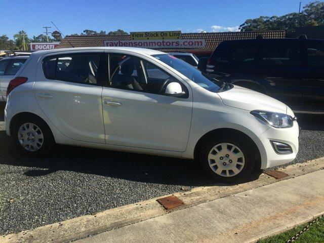 Used Hyundai i20  , 2014 Hyundai i20 ACTIVE White 4 Speed Automatic Hatchback