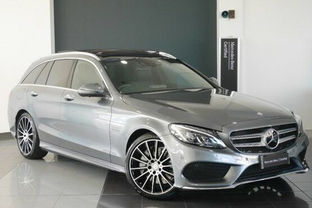 Demonstrator, Demo, Near New Mercedes-Benz C250 Estate 7G-Tronic +, Mosman, 2016 Mercedes-Benz C250 Estate 7G-Tronic + Wagon