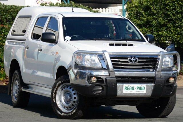 Used Toyota Hilux SR Double Cab, Acacia Ridge, 2013 Toyota Hilux SR Double Cab KUN26R MY14 Utility