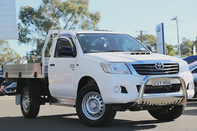 Used Toyota Hilux SR, Narellan, 2014 Toyota Hilux SR Cab Chassis