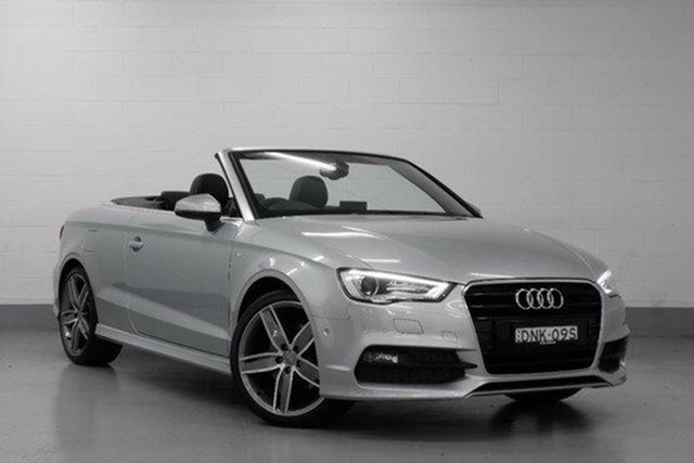 Demonstrator, Demo, Near New Audi A3 Ambition S tronic, Southport, 2015 Audi A3 Ambition S tronic Cabriolet